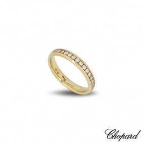 Chopard Yellow Gold Diamond Band 827331-0111